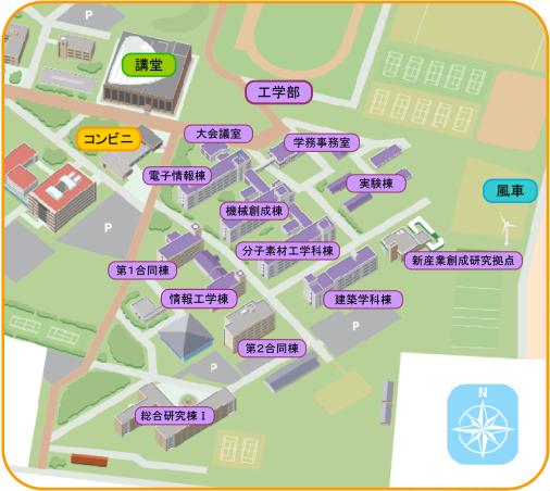 大会議室地図
